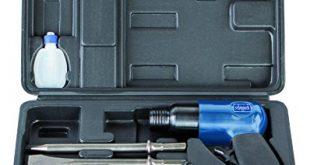 Scheppach Druckluft Meisselhammer Set enthaelt 5 Meisseleinsaetze und ein Oel Flaeschchen 310x165 - Scheppach Druckluft Meisselhammer Set, enthält 5 Meisseleinsätze und ein Öl-Fläschchen, 4500 Schläge/Minute, Arbeitsdruck 6,3 bar, Luftbedarf- Ø79,2 L/min