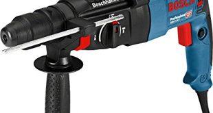 Bosch Professional Bohrhammer GBH 2 26 F 830 Watt Wechselfutter SDS plus 310x165 - Bosch Professional Bohrhammer GBH 2-26 F (830 Watt, Wechselfutter SDS-plus, Schlagenergie: 2,7 J, im Koffer)