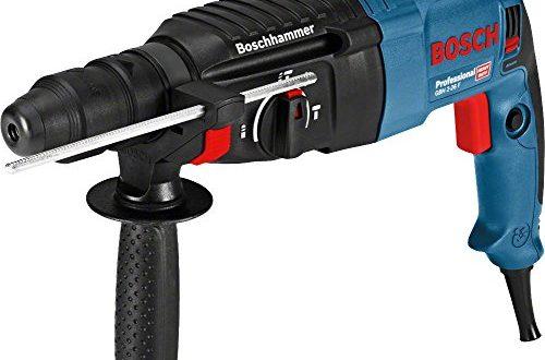 Bosch Professional Bohrhammer GBH 2 26 F 830 Watt Wechselfutter SDS plus 500x330 - Bosch Professional Bohrhammer GBH 2-26 F (830 Watt, Wechselfutter SDS-plus, Schlagenergie: 2,7 J, im Koffer)